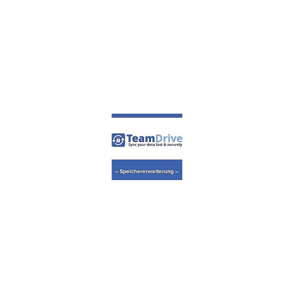 TeamDrive 10 Hosted Cloud Storage 10GB Lizenz