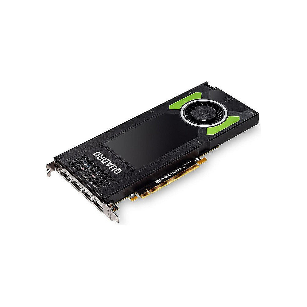 PNY NVIDIA Quadro P4000 8GB PCIe 3.0 Workstation Grafikkarte 4x DP