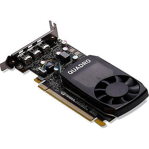 PNY NVIDIA Quadro P400 2GB PCIe 3.0 Workstation Grafikkarte 3x Mini-DP/DVI