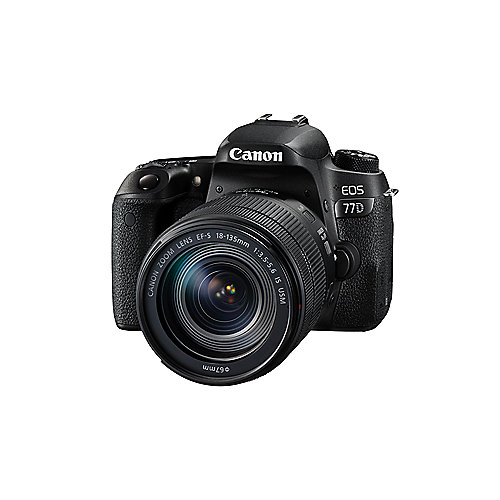 Canon EOS 77D Kit 18-135mm IS USM Spiegelreflexkamera