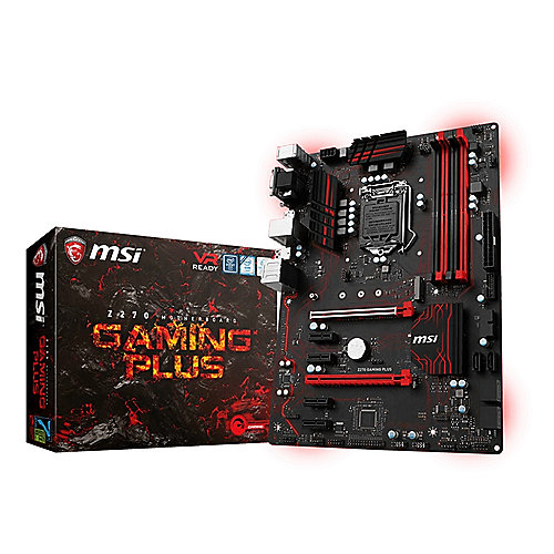 MSI Z270 Gaming Plus ATX Mainboard Sockel 1151 (Kabylake)