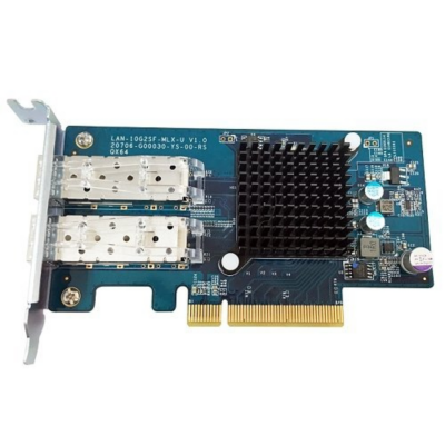 QNAP  LAN-10G2SF-MLX 10Gigabit Dual SFP+ PCIe Adapter Erweiterung | 4712511128260