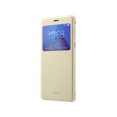 Honor  View Flip Cover für  6x, gold | 6901443141159