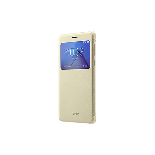 Honor View Flip Cover für Honor 6x, gold