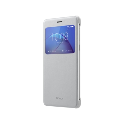 Honor  View Flip Cover für  6x, silber | 6901443141166