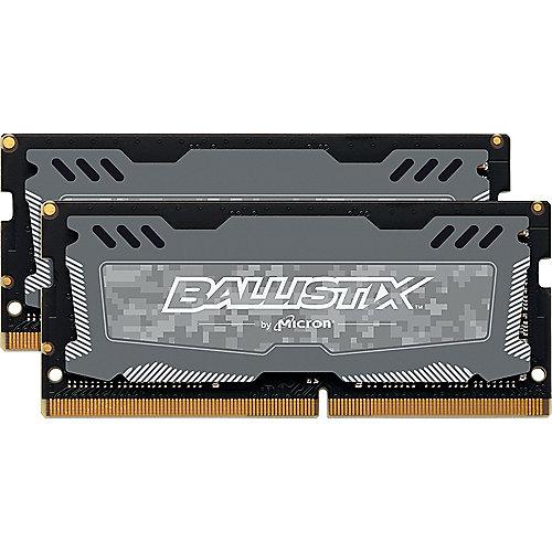16GB (2x8GB) Ballistix Sport LT DDR4-2400 CL16 SO-DIMM RAM Speicherkit | 0649528778475