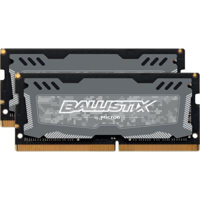 Ballistix 16GB (2x8GB)  Sport LT DDR4-2400 CL16 SO-DIMM RAM Speicherkit | 0649528778475