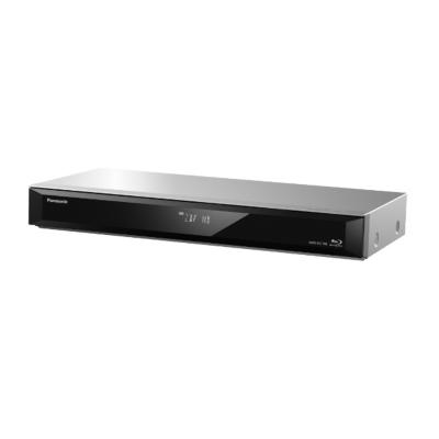 Panasonic DMR-BST765EG Blu-ray Recorder, 500 GB HDD, DVB-S Twin Tuner silber