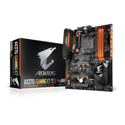Gigabyte  AORUS GA-AX370-Gaming K7 ATX Mainboard Sockel AM4 2xGL/USB3.1/M.2/HDMI | 4719331801335