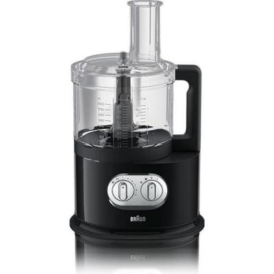 Braun  FP 5150 Kompakt-Küchenmaschine Schwarz | 8021098771063