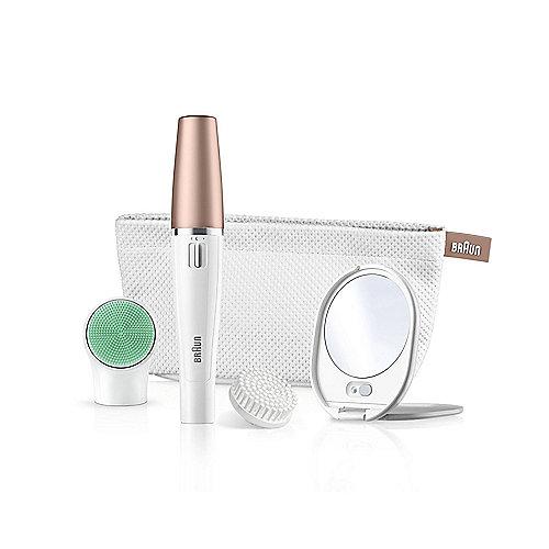 Braun FaceSpa 851v Gesichtsreinigungsbürste und -epilierer Beauty Edition Bronze | 4210201171171