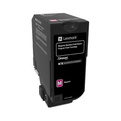 Lexmark  74C2SM0 Rückgabe-Toner Magenta für ca. 7.000 Seiten | 0734646614368