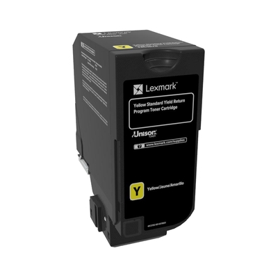 Lexmark  74C2SY0 Rückgabe-Toner Gelb für ca. 7.000 Seiten | 0734646614375