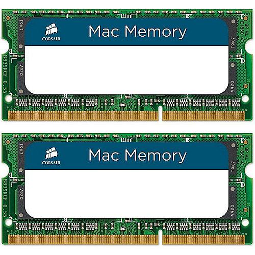 Corsair 8GB (2x4GB) SODIMM PC10666/1333 MHz für iMac, MacBook und MacBook Pro   0843591016124