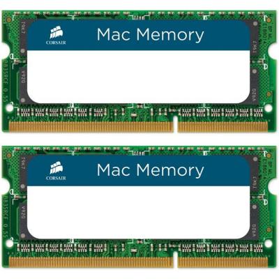 Corsair  8GB (2x4GB) SODIMM PC10666/1333 MHz für iMac, MacBook und MacBook Pro | 0843591016124