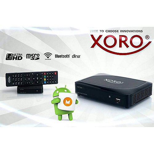 Xoro HST 260 SmartTV IP-Box Mediaplayer 8GB Flash, 2GB RAM, Android 6