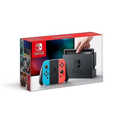 Nintendo Switch Konsole + Joy-Con Neon-rot/Neon...