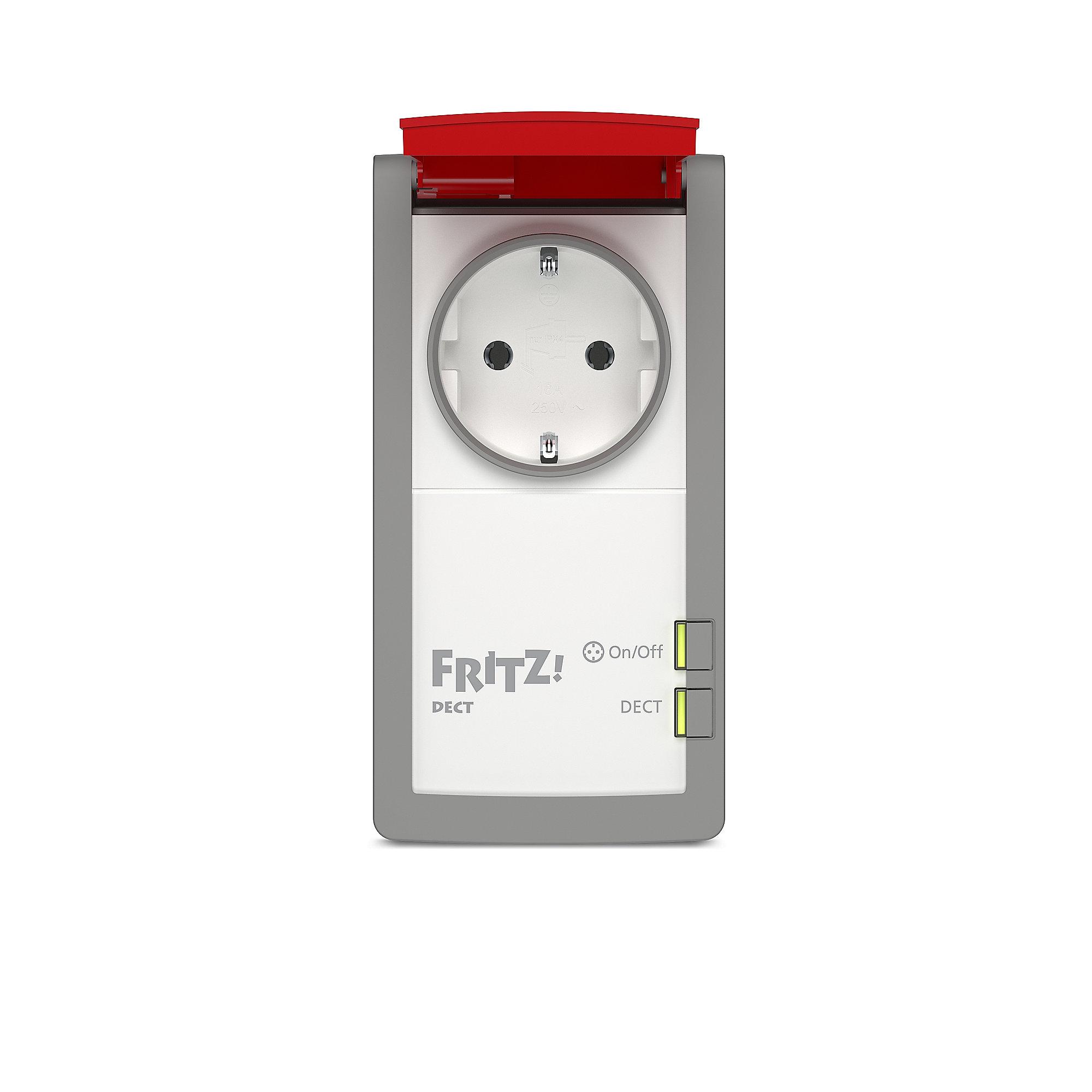 AVM 2er Set FRITZ!DECT 210 intelligente Steckdose für außen ++ Cyberport
