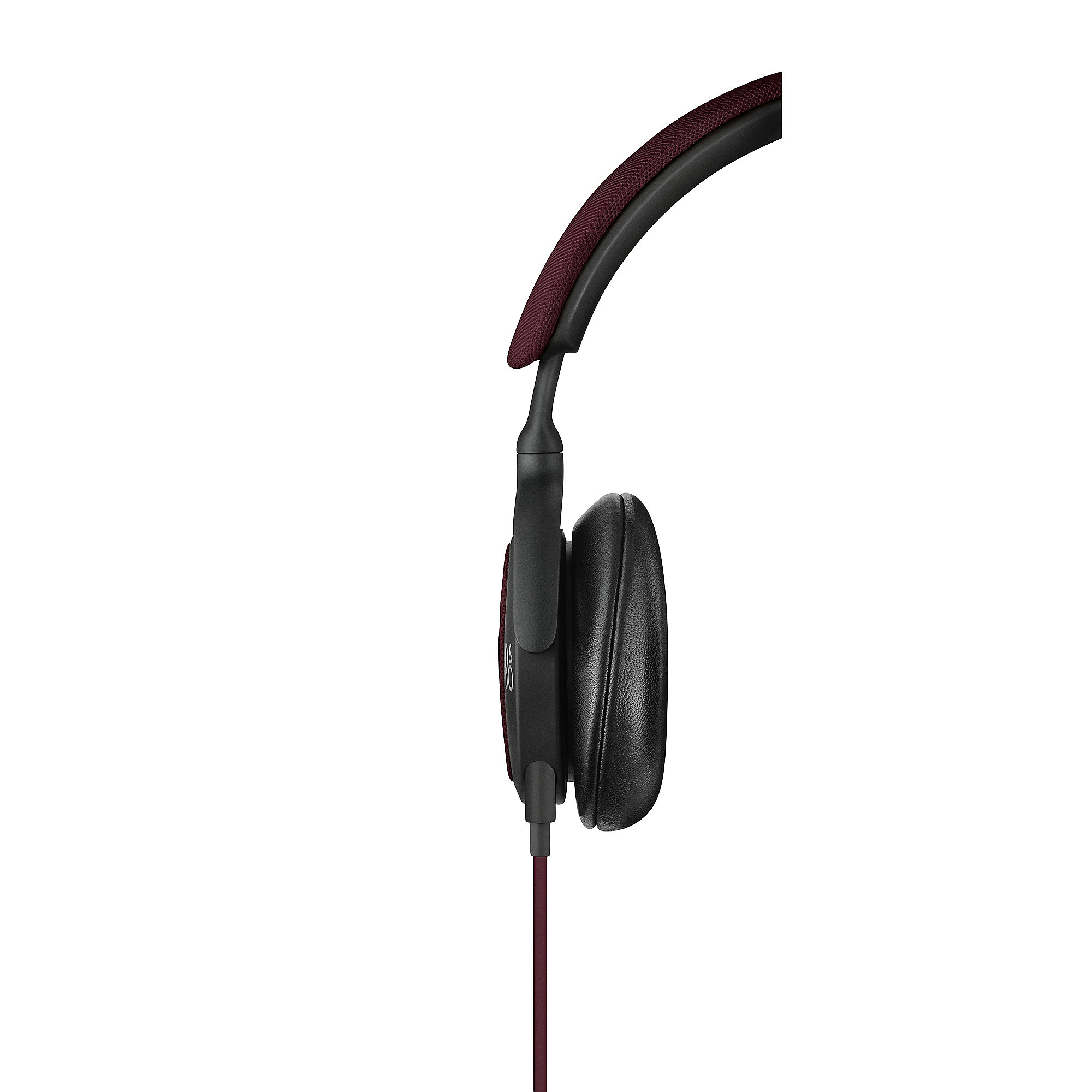 B&O PLAY BeoPlay H2 On Ear Kopfhörer mit Mikrofon & Fernb. für Apple deep Red