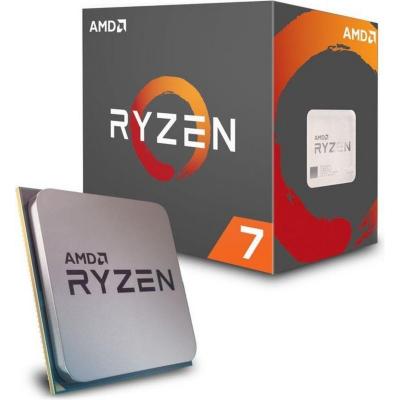 AMD  Ryzen R7 1700 (8x 3,0/3,7GHz) 16MB Sockel AM4 CPU BOX mit Wraith Kühler | 0730143308328