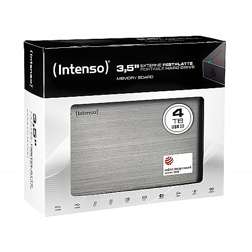 Intenso Memory Board USB3.0 4TB 3,5zoll anthrazit