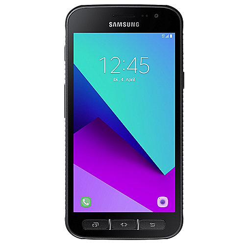 Samsung GALAXY XCover 4 dark-silver Android Smartphone