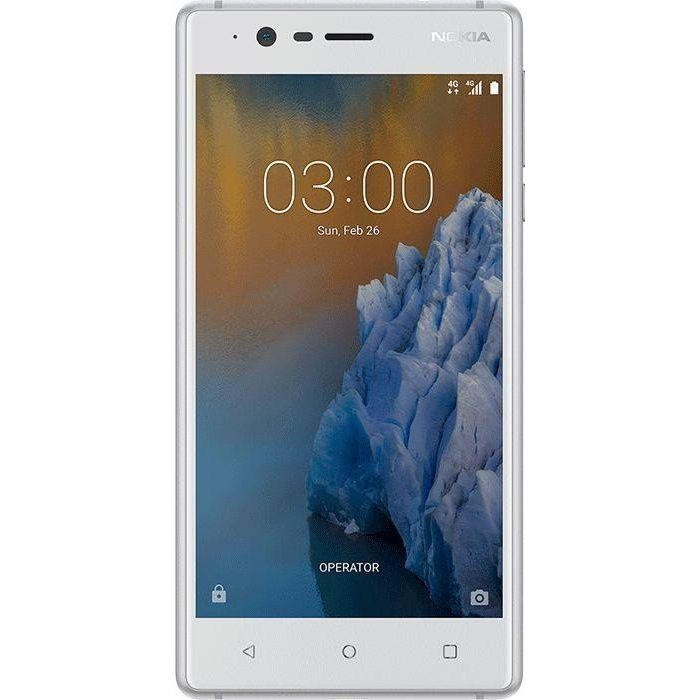 Nokia 3 16GB Silber Android? 7.0 Smartphone