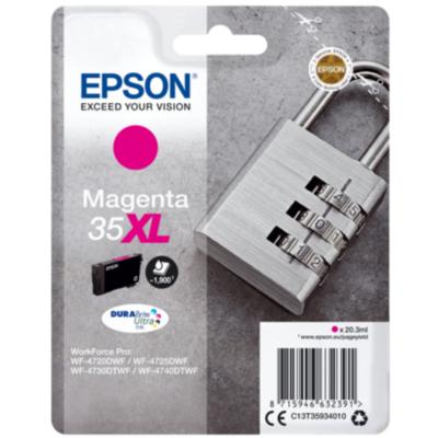 Epson  C13T35934010 Druckerpatrone 35XL magenta hohe Kapazität | 8715946632391