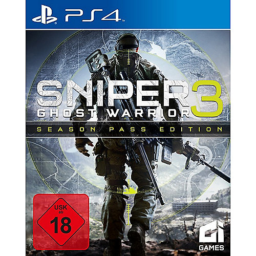 Sniper Ghost Warrior 3 Limited Edition - PS4 FSK18
