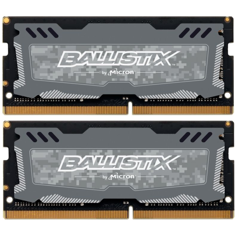 8GB (2x4GB) Ballistix Sport LT DDR4-2666 CL16 SO-DIMM RAM Speicher Kit
