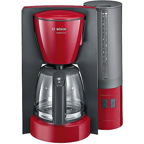 Bosch TKA6A044 ComfortLine Filterkaffeemaschine rot anthrazit | 4242002874401