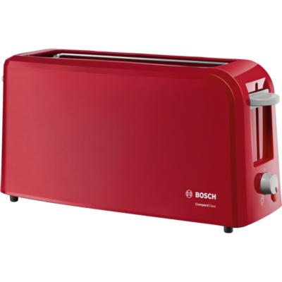 Bosch  TAT3A004 CompactClass Langschlitz-Toaster rot   4242002717524