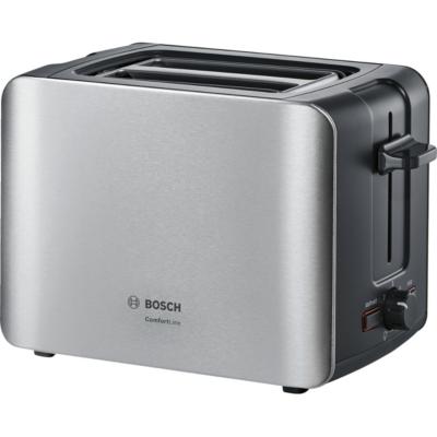 Bosch  TAT6A913 ComfortLine Kompakt-Toaster Edelstahl   4242002879963