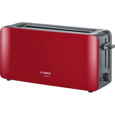 Bosch  TAT6A004 ComfortLine Langschlitz-Toaster rot   4242002880150