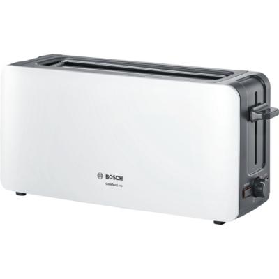 Bosch  TAT6A001 ComfortLine Langschlitz-Toaster weiß   4242002880099