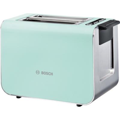 Bosch  TAT8612 Styline Kompakt-Toaster minze   4242002994482