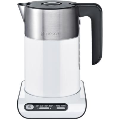 Bosch TWK8611P Styline Wasserkocher 1,5 Liter weiß