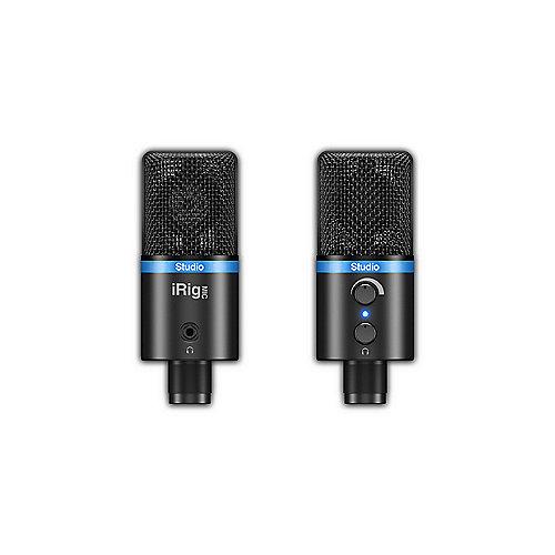 iRig Mic Studio – Mikrofon Black | 8025813585034