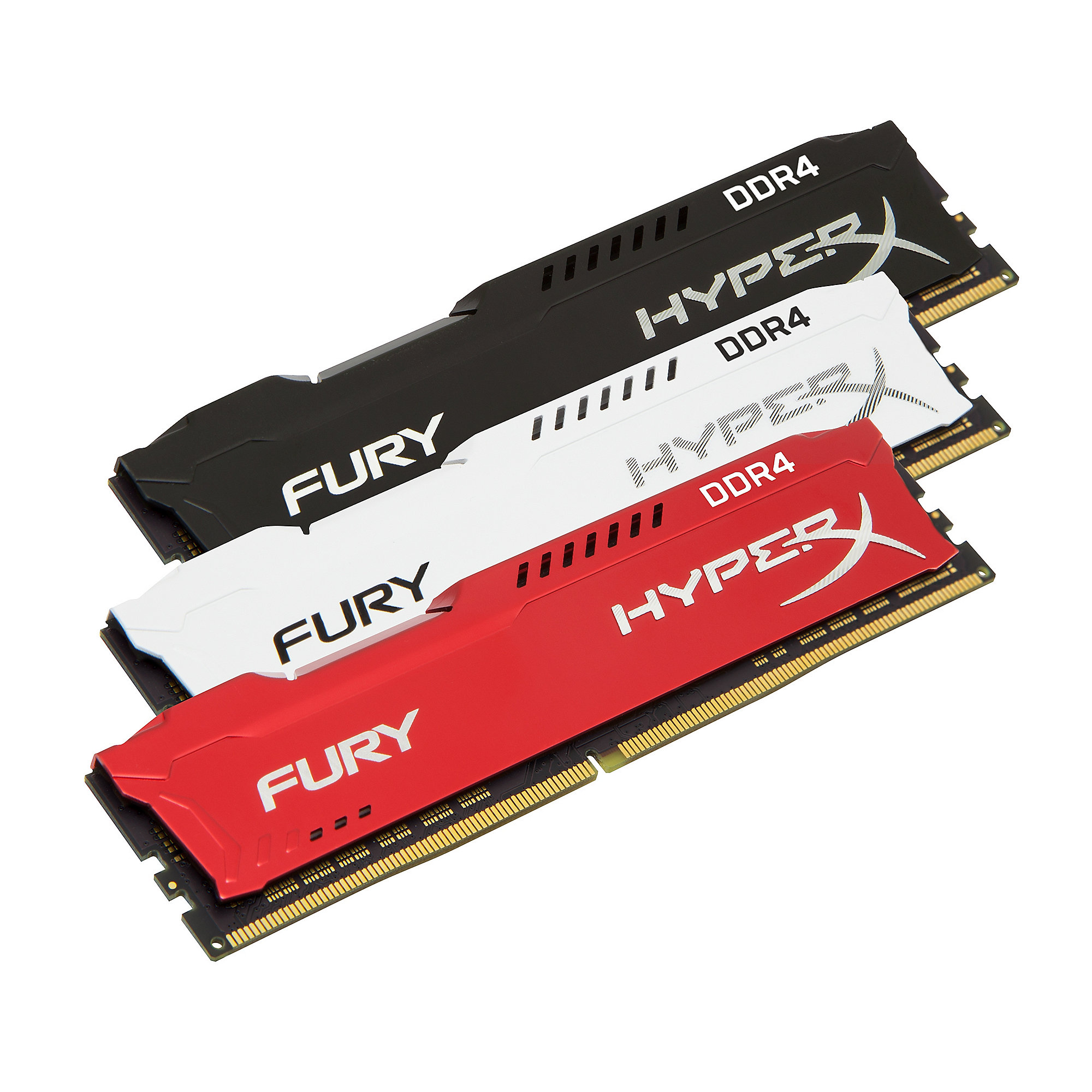 32GB (4x8GB) HyperX Fury schwarz DDR4-2133 CL14 RAM Kit