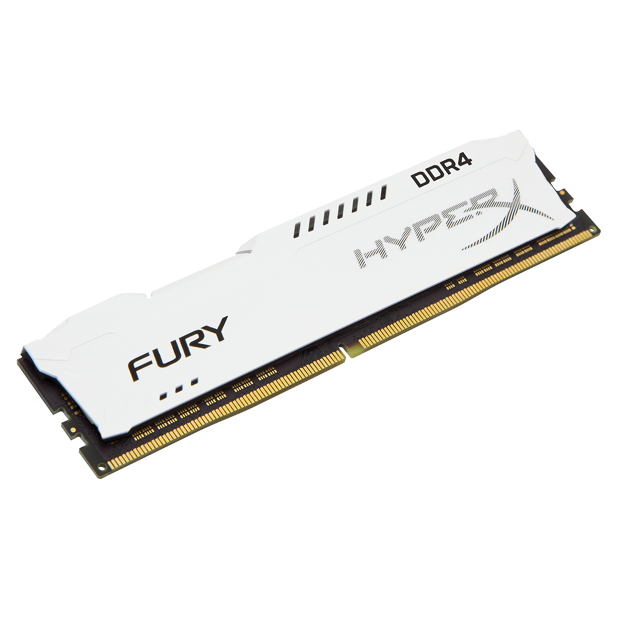 64GB (4x16GB) HyperX Fury weiß DDR4-2133 CL14 RAM Kit