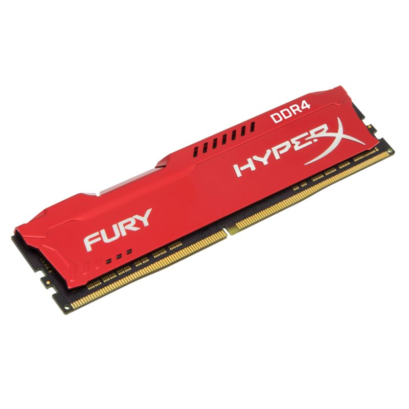 16GB (2x8GB) HyperX Fury rot DDR4-2133 CL14 RAM Kit