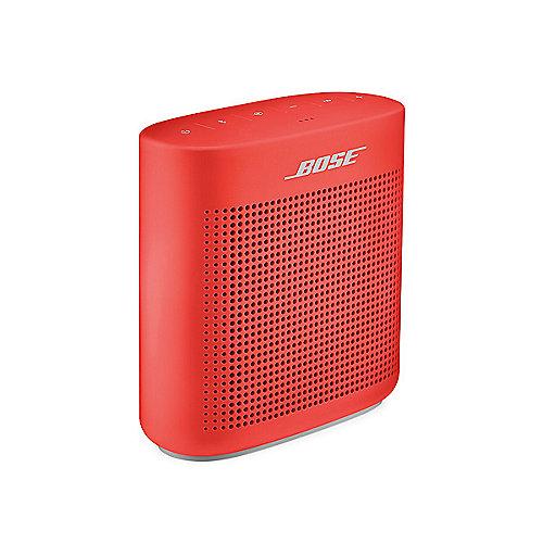 BOSE SoundLink colour II Rot Bluetooth Lautsprecher | 0017817745901