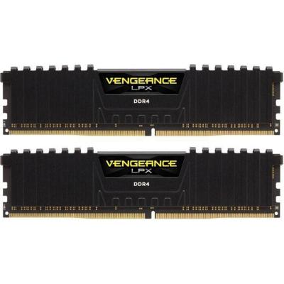 Corsair 32GB (2x16GB)  Vengeance LPX Black DDR4-2133 RAM CL13 (13-15-15-28) | 0843591070621