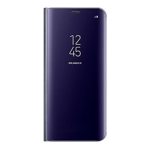 Samsung EF-ZG955 Clear View Cover für Galaxy S8+ violett