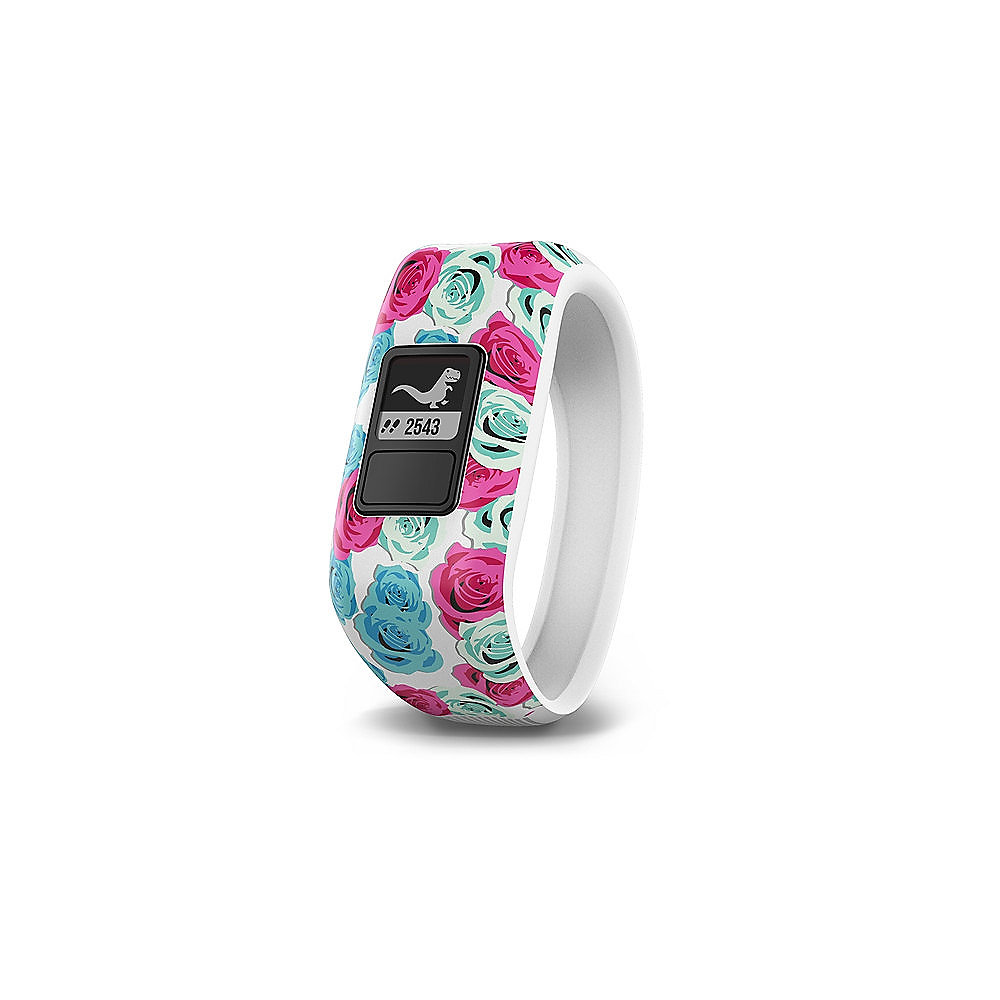 Garmin vivofit jr. Real Flower Gr. M für Handgelenkumfang 115-145mm