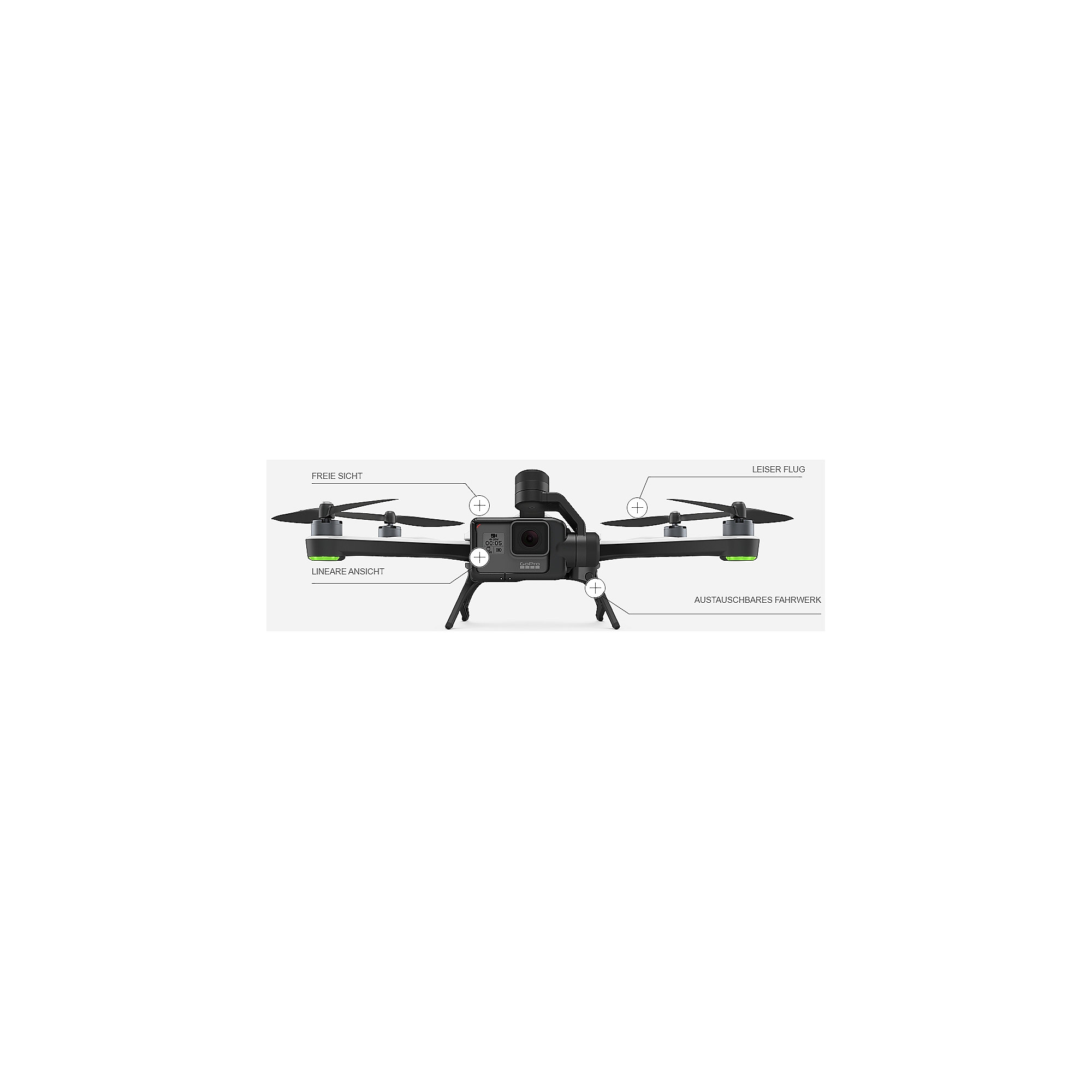 GoPro Karma Drohne Copter Flight Kit Basis