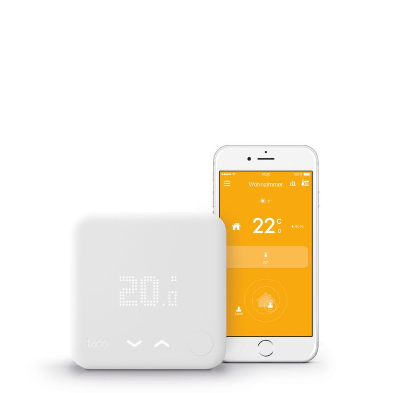 tado Starter Kit - Smart Thermostat + Internet Bridge V3
