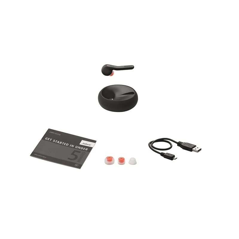 Jabra Eclipse Bluetooth-Headset schwarz