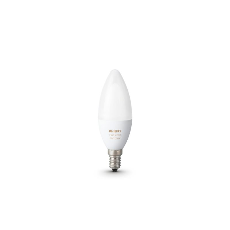 Philips Hue White and Color Ambiance LED Zusatzlampe (RGBW) - 1 x 6W E14