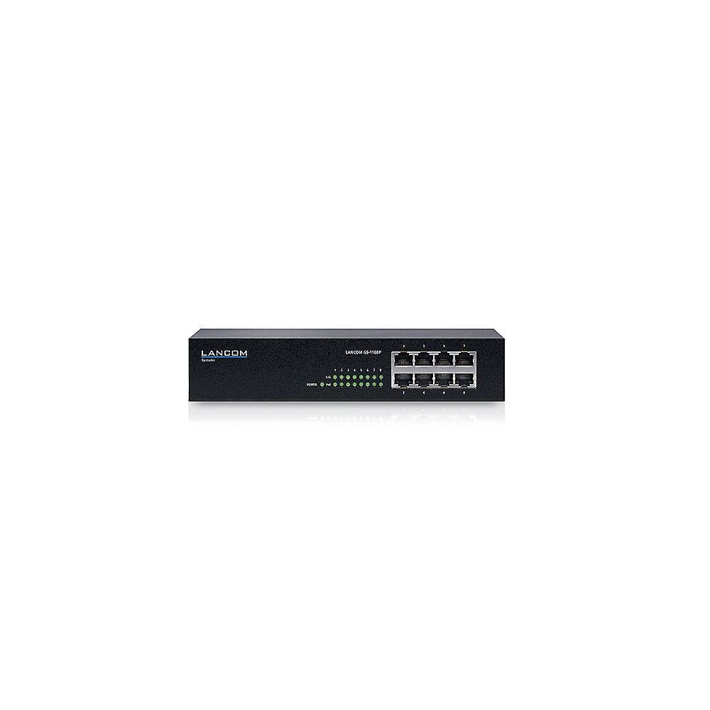 LANCOM GS-1108 8-Port Gigabit Switch PoE
